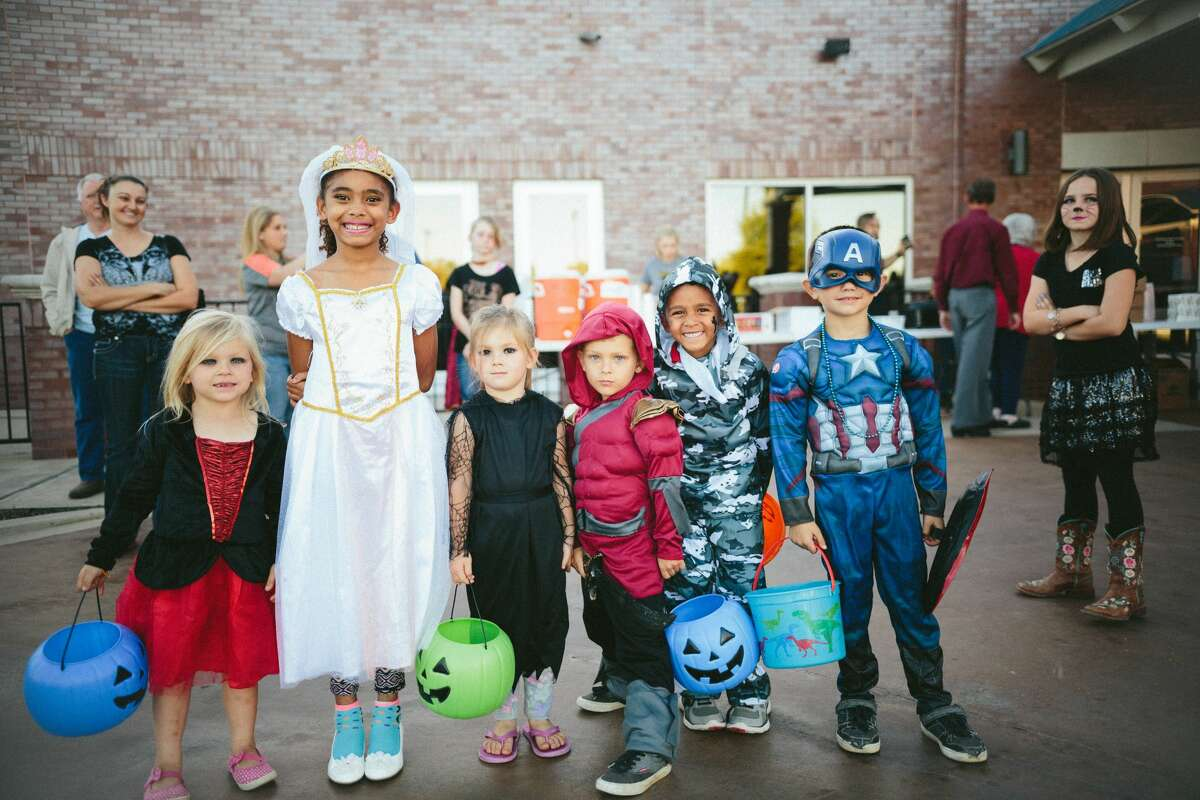 The CDC recommends masks covering the mouth and nose be incorporated into Halloween costumes.