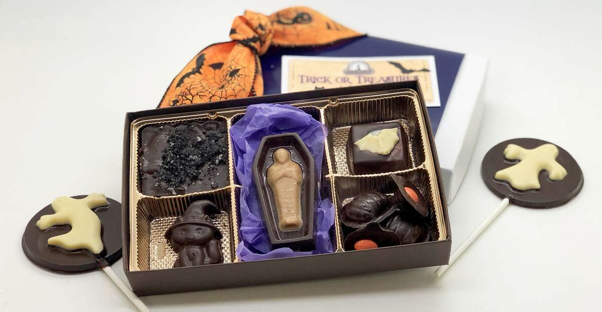 Halloween inspired treats are available at Divine Treasures.