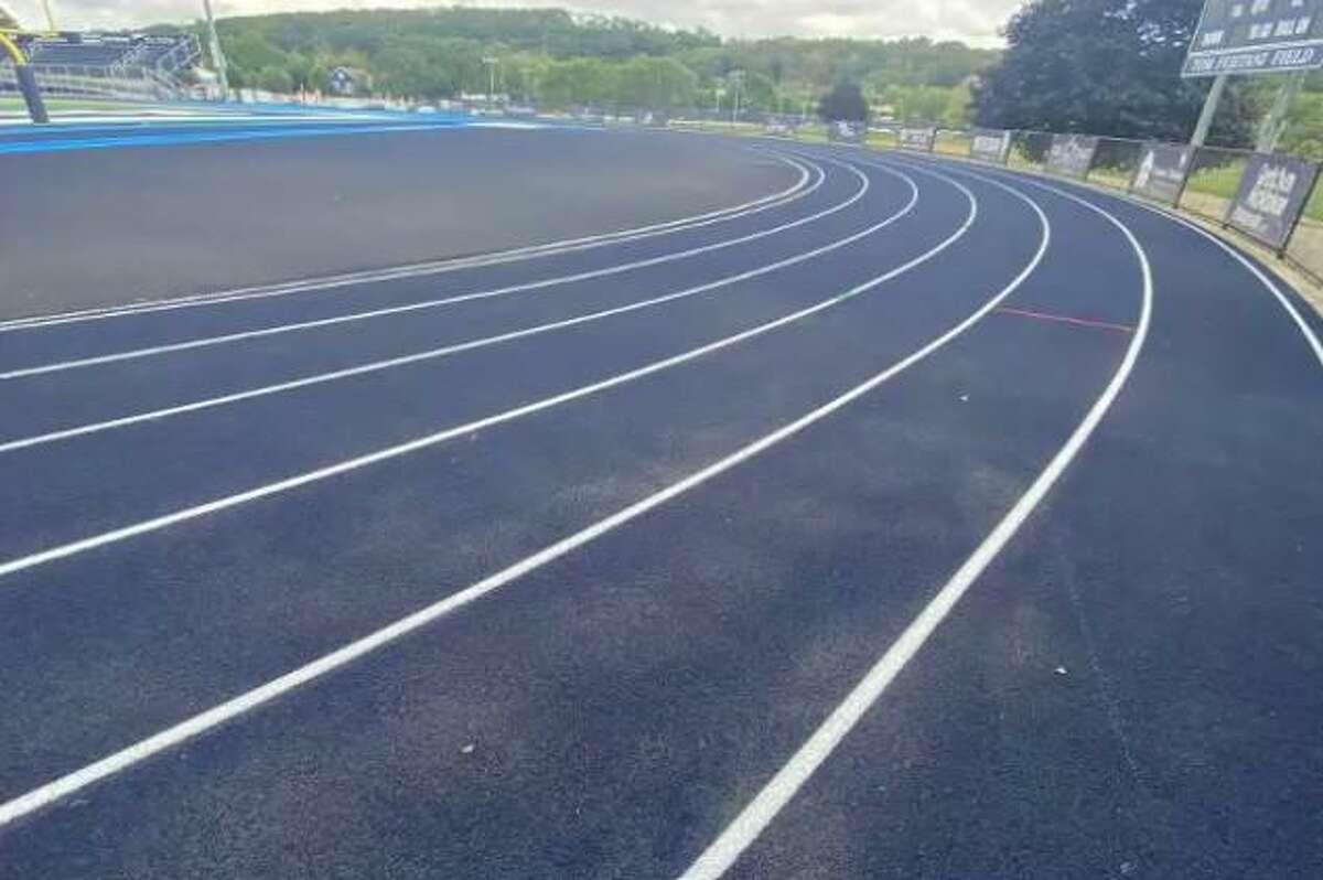 After initial cleanups of the track at the end of September.