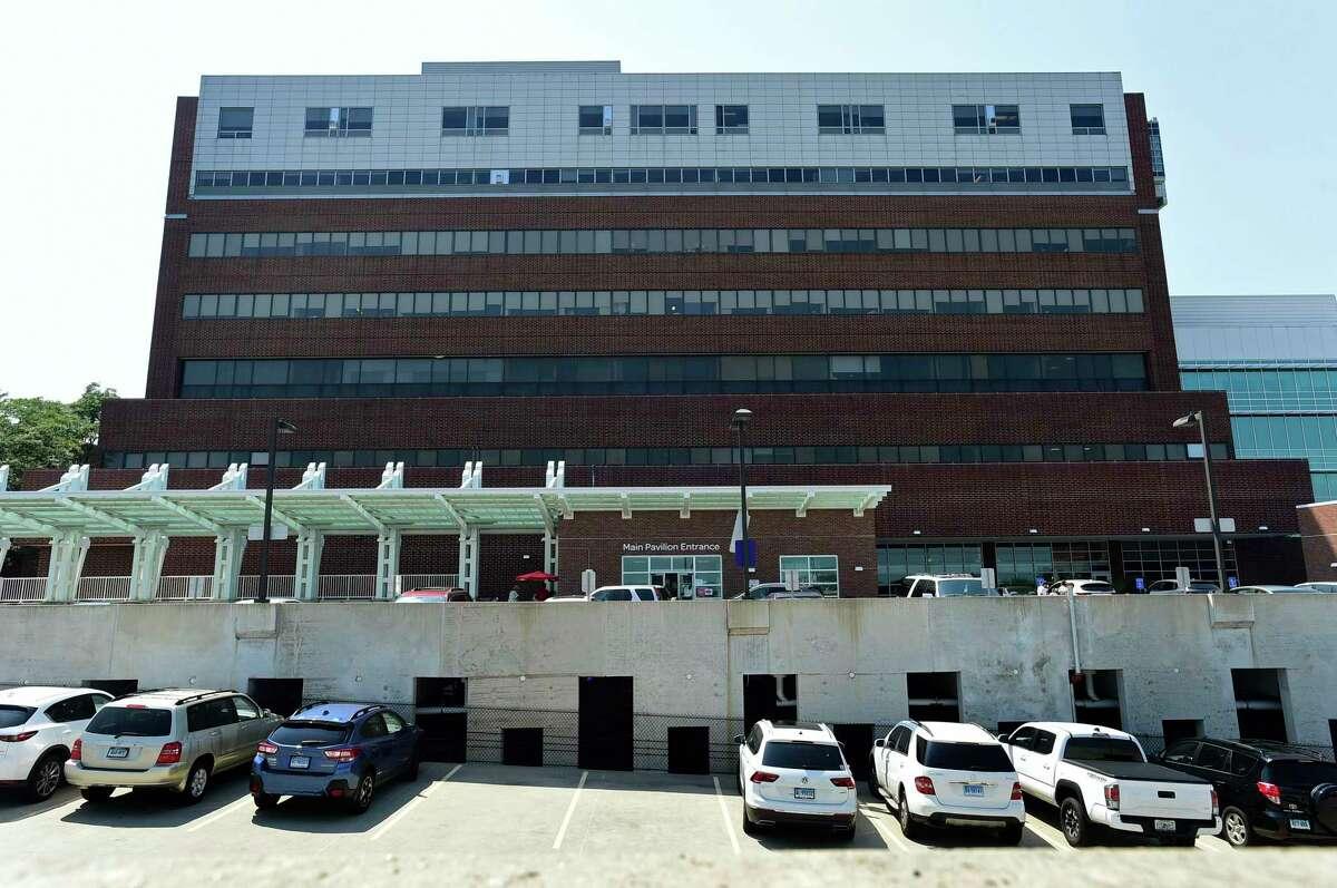Norwalk Hospital Thursday, August 11, 2021, in Norwalk, Conn.