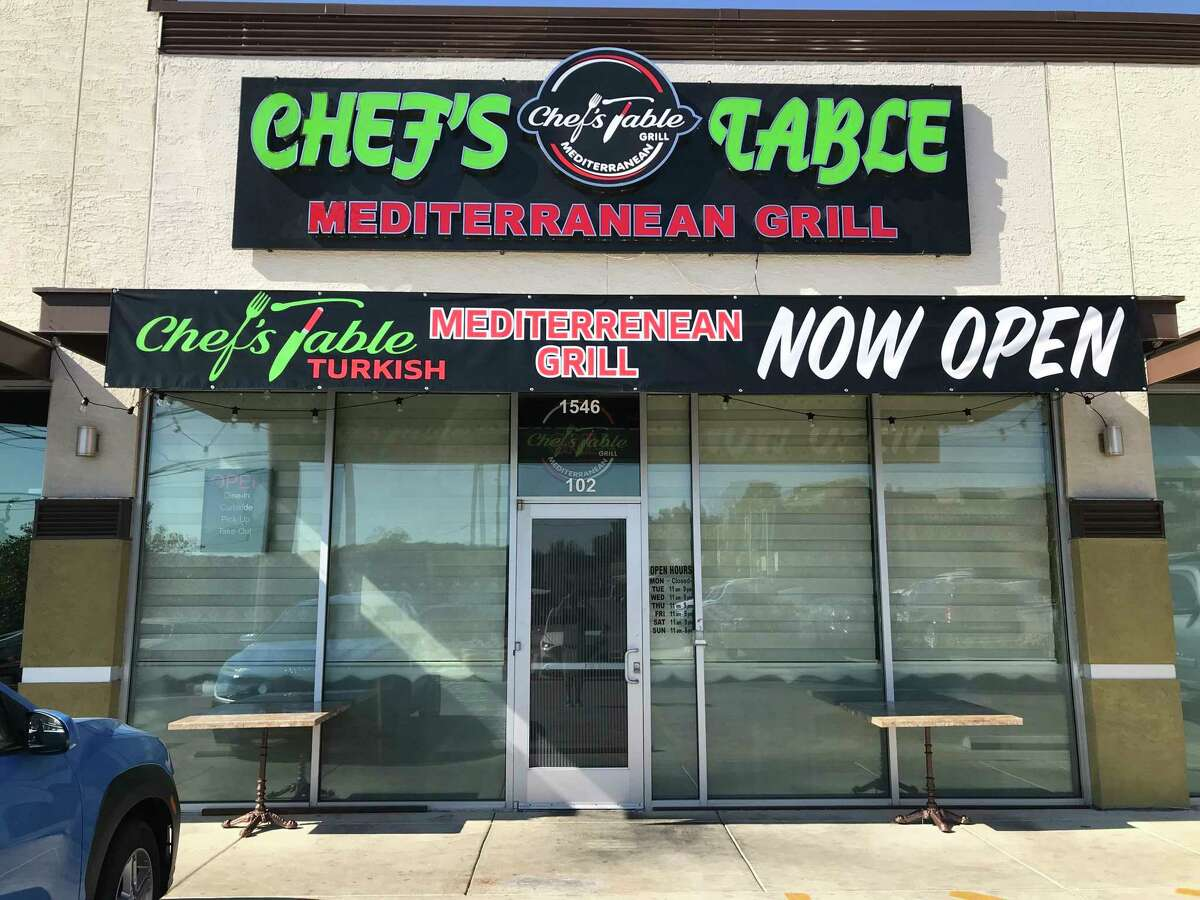 Chef's Table Mediterranean Grill is located at 1546 Babcock Road, Suite 102