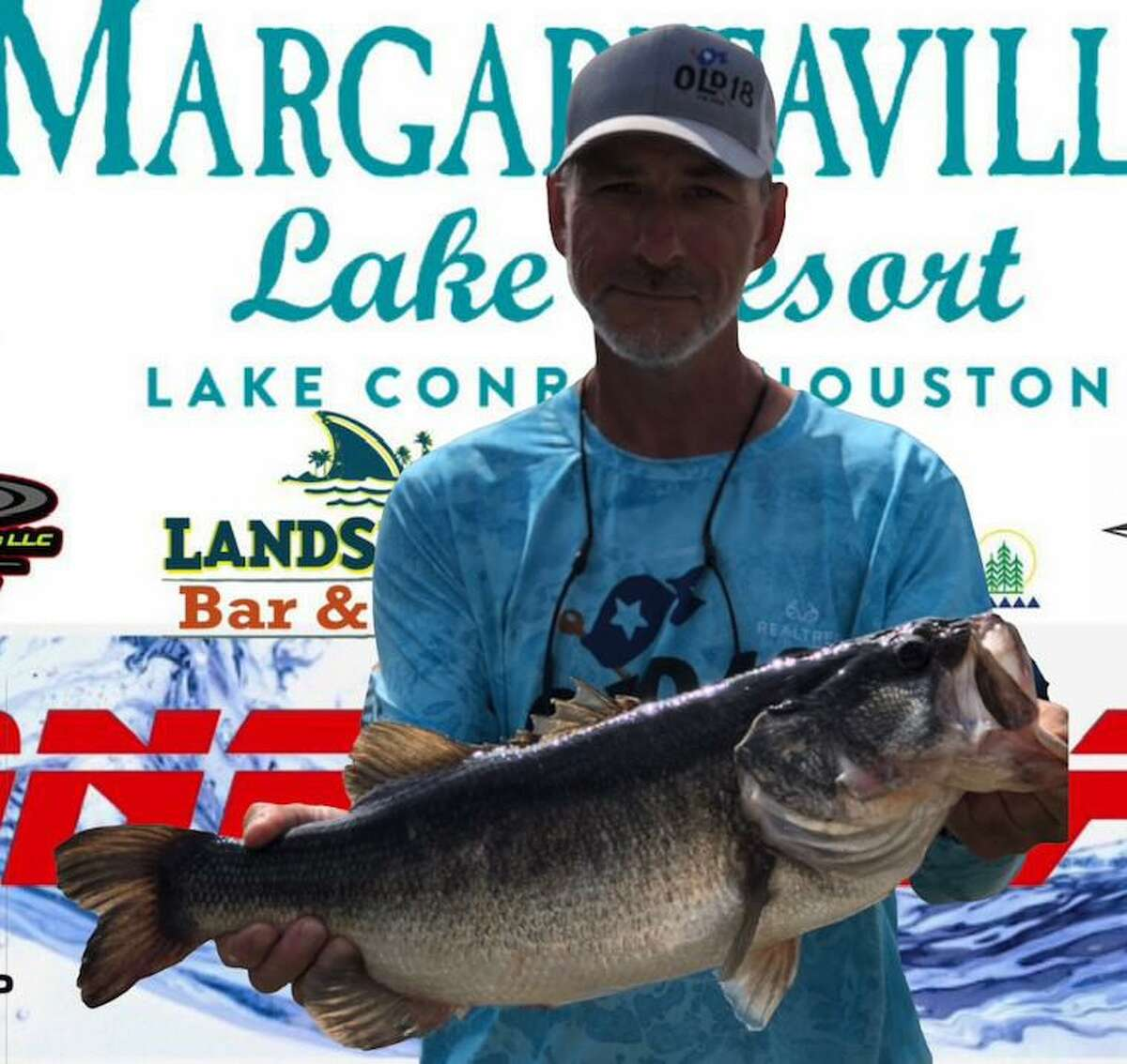 Terry Zorn (pictured) and Danny Singleton had the second place big bass in the CONROEBASS Weekend Series Championship with a weight of 8.38 pounds.