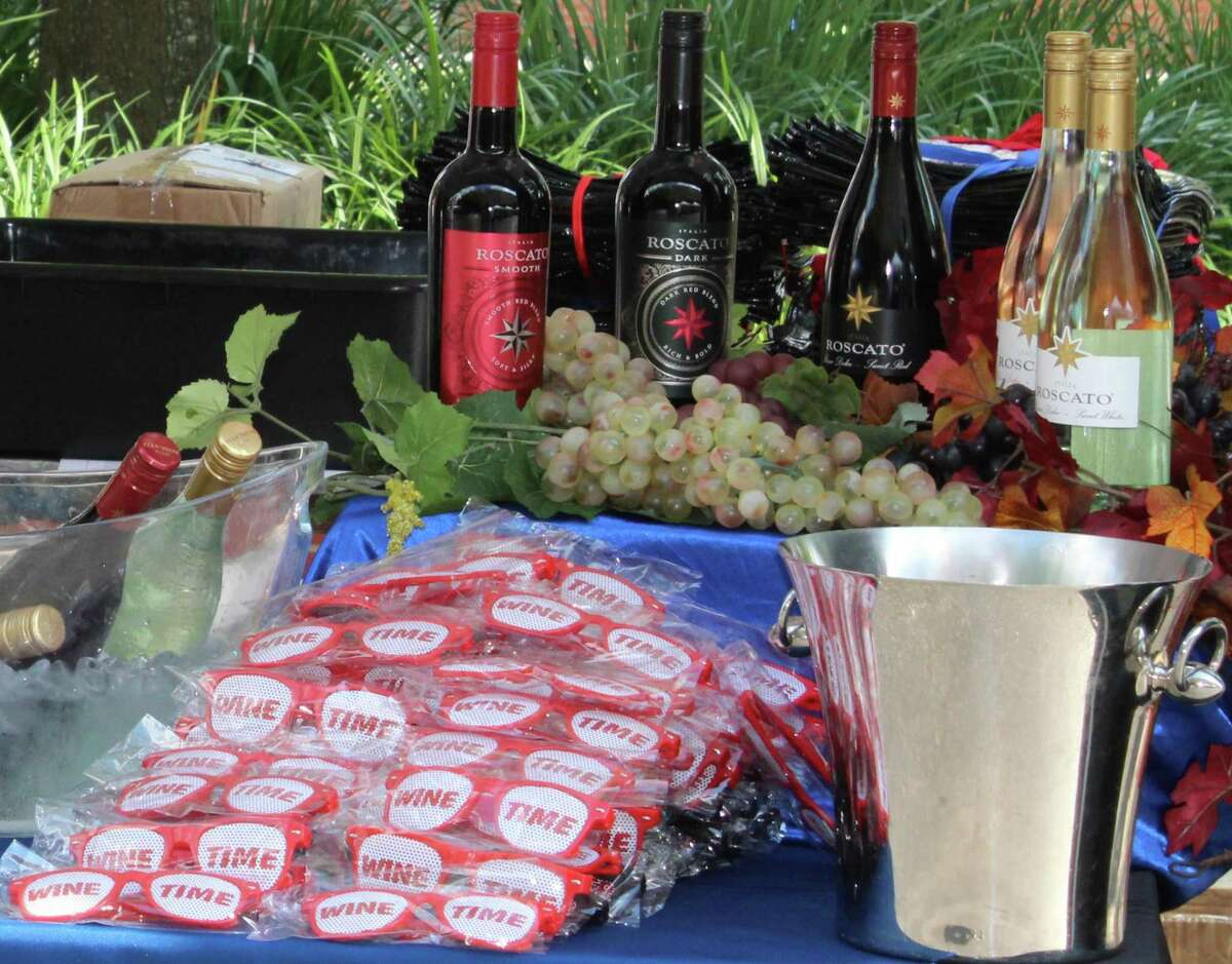Many wines were on display during the H-E-B Wine Walk at Market Street on Thursday, June 7, 2018. This year's Wine Walk is set for Oct. 21.