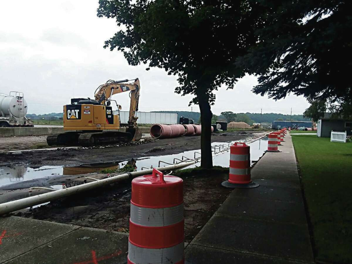 """Three projects are underway in regards to the sewers and waste water treatment plant in Manistee. The projects' official name is""""Wet Weather Corrective Action Program"""" and combinedit is a$19million project. (File Photo)"""