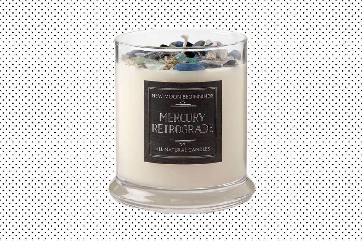 Mercury Retrograde Protection Candle, $30 at Uncommon Goods