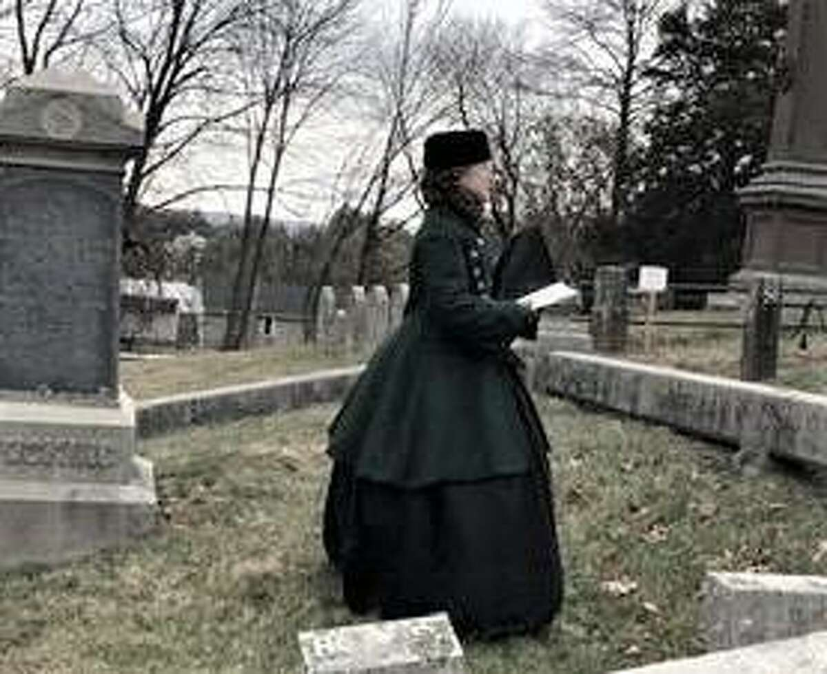 Members of the living history department of the Cromwell Historical Society, dressed in period clothing, will share the stories of the men and women buried at the cemetery in an Oct. 17 program.