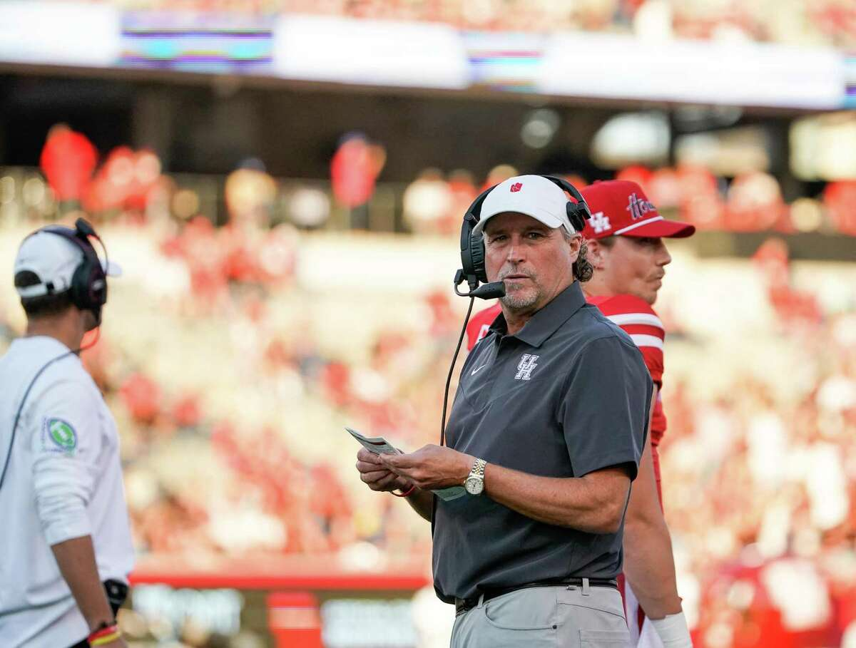 Houston coach Dana Holgorsen and his staff plan to take advantage of a Thursday night game with a long weekend of recruiting.