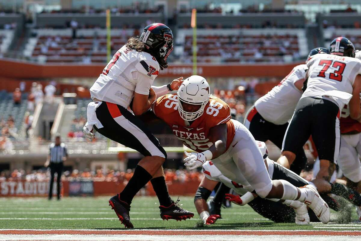 Texas and Alfred Collins had its moments against Texas Tech two weeks ago but the Longhorns defense knows it will be in for a different challenge against Oklahoma.