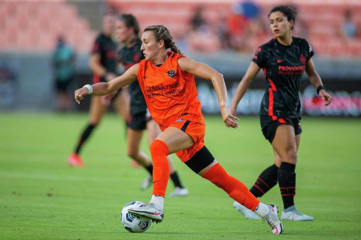 The Dash and midfielder Gabby Seiler return to action against Portland on Wednesday.