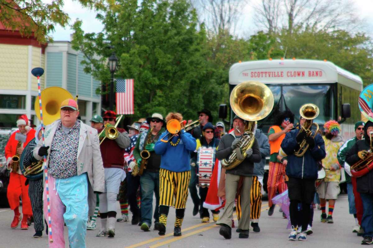The Scotville Clown Band will be participating in the Fall Festival Parade in Frankfort on Oct. 9. (File photo)