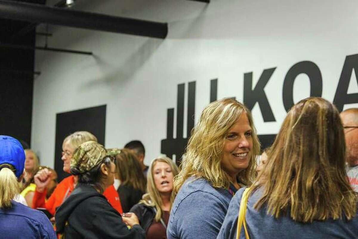 I-Koach Fitness, LLC, celebrated with the community Saturday during the business' grand opening in Edwardsville.