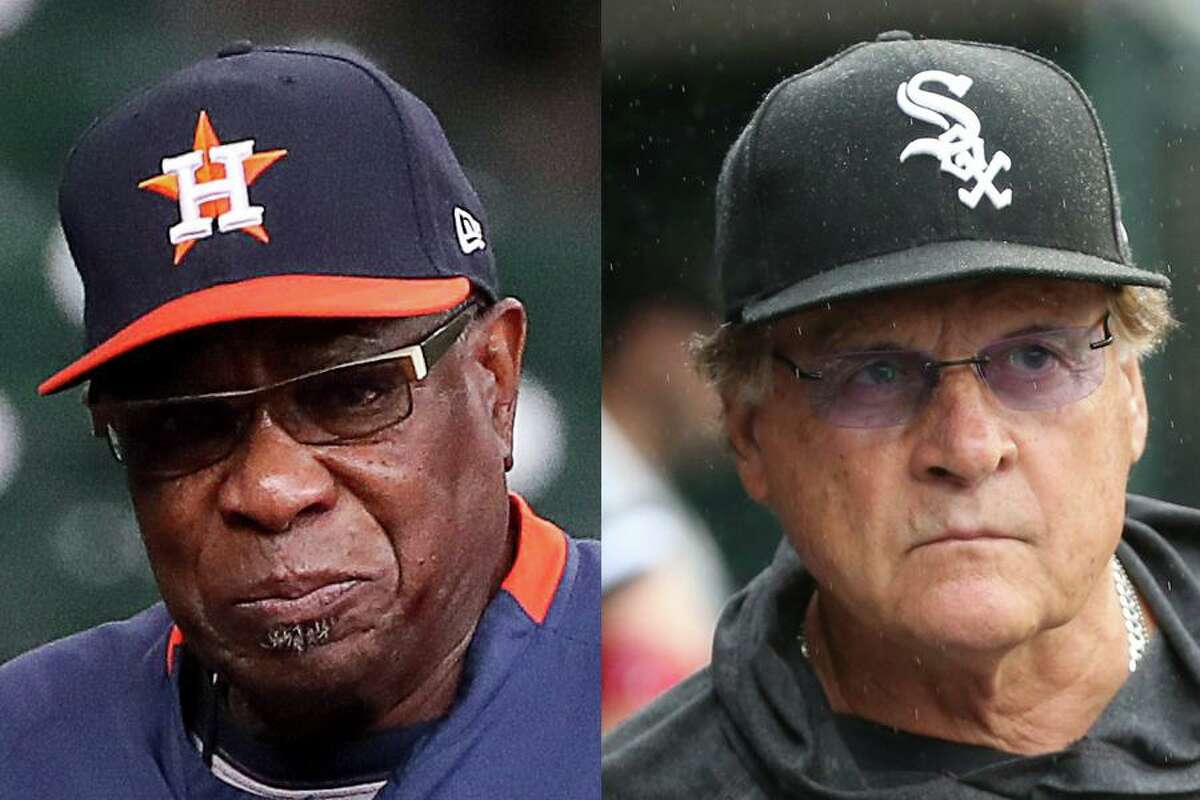 Astros manager Dusty Baker and White Sox counterpart Tony La Russa, who are 104-104 in their regular-season meetings, will be facing off for just the second time in a playoff series. In the 2002 National League Championship Series, Baker's Giants beat La Russa's Cardinals in five games.