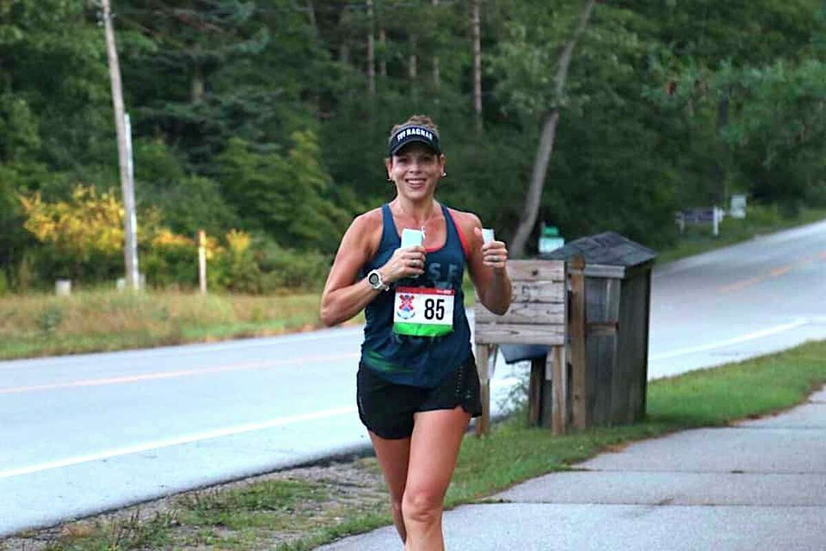 Carrie Lewis qualified twice for the Boston Marathon, but this will be the first time she got to run it. She qualified last year but due to the COVID pandemic she had to run the race virtually. (Courtesy Photo)