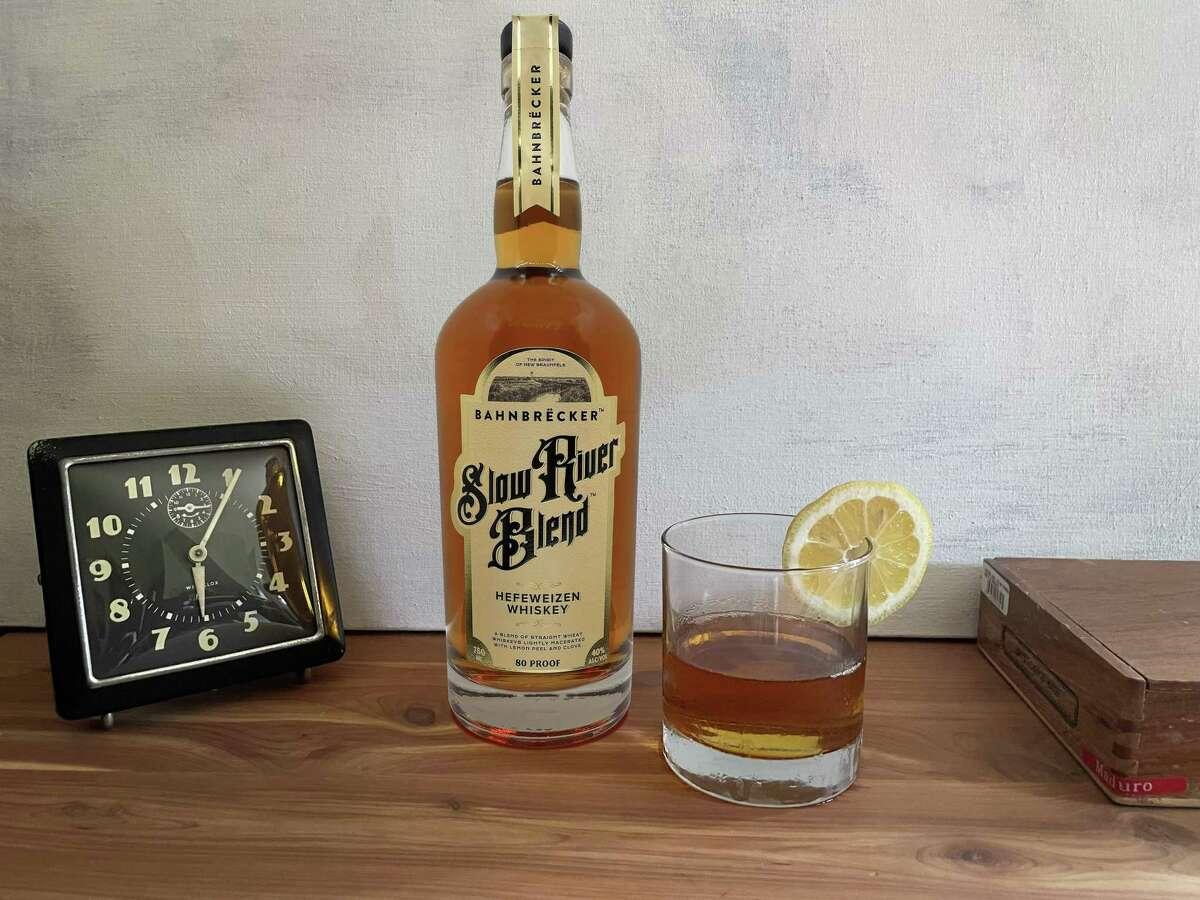 Bahnbrëcker's Slow River Blend whiskey tastes like an old-fashioned cocktail in a bottle.