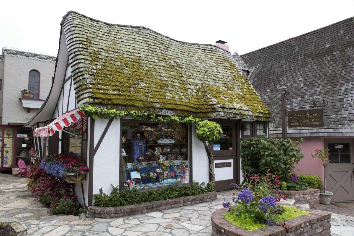 Quaint stores in Carmel, California.