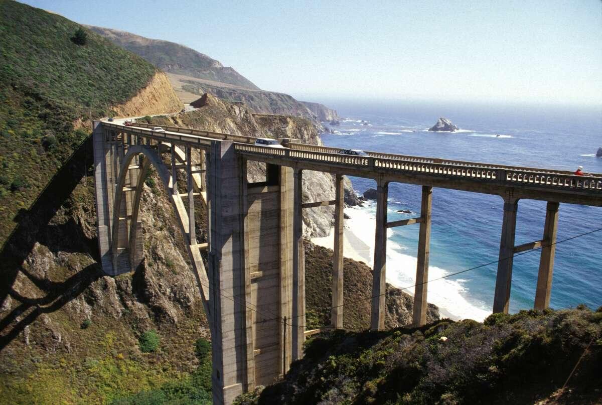 California, South Of Carmel Highlands, Bixby Creek Bridge.