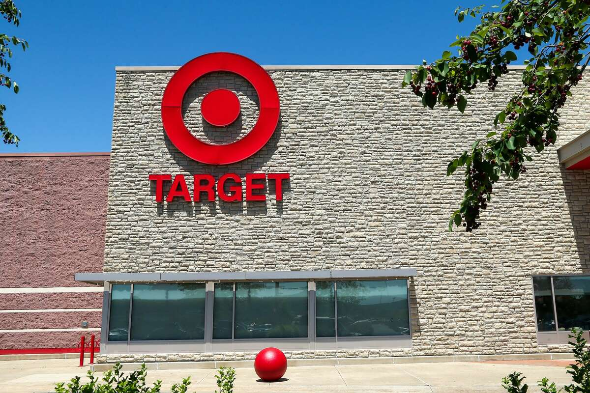 The Target bullseye logo is seen on the outside of a Target store in Pennsylvania.(Photo by Paul Weaver/SOPA Images/LightRocket via Getty Images)