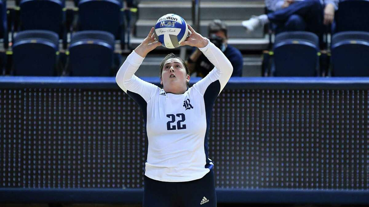 Rice volleyball player Carly Graham.