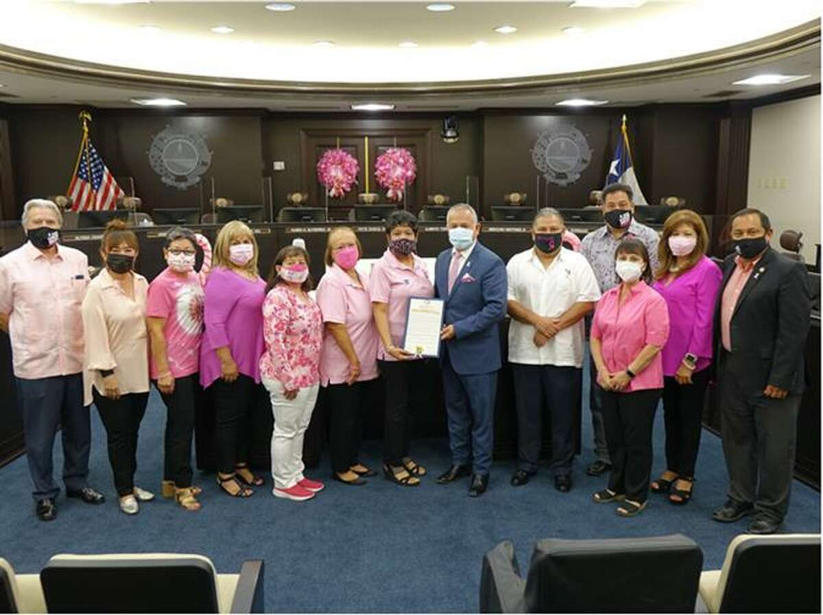 District III Councilmember Mercurio Martinez and the American Cancer Society proclaimed the month of October as Breast Cancer Awareness Month.