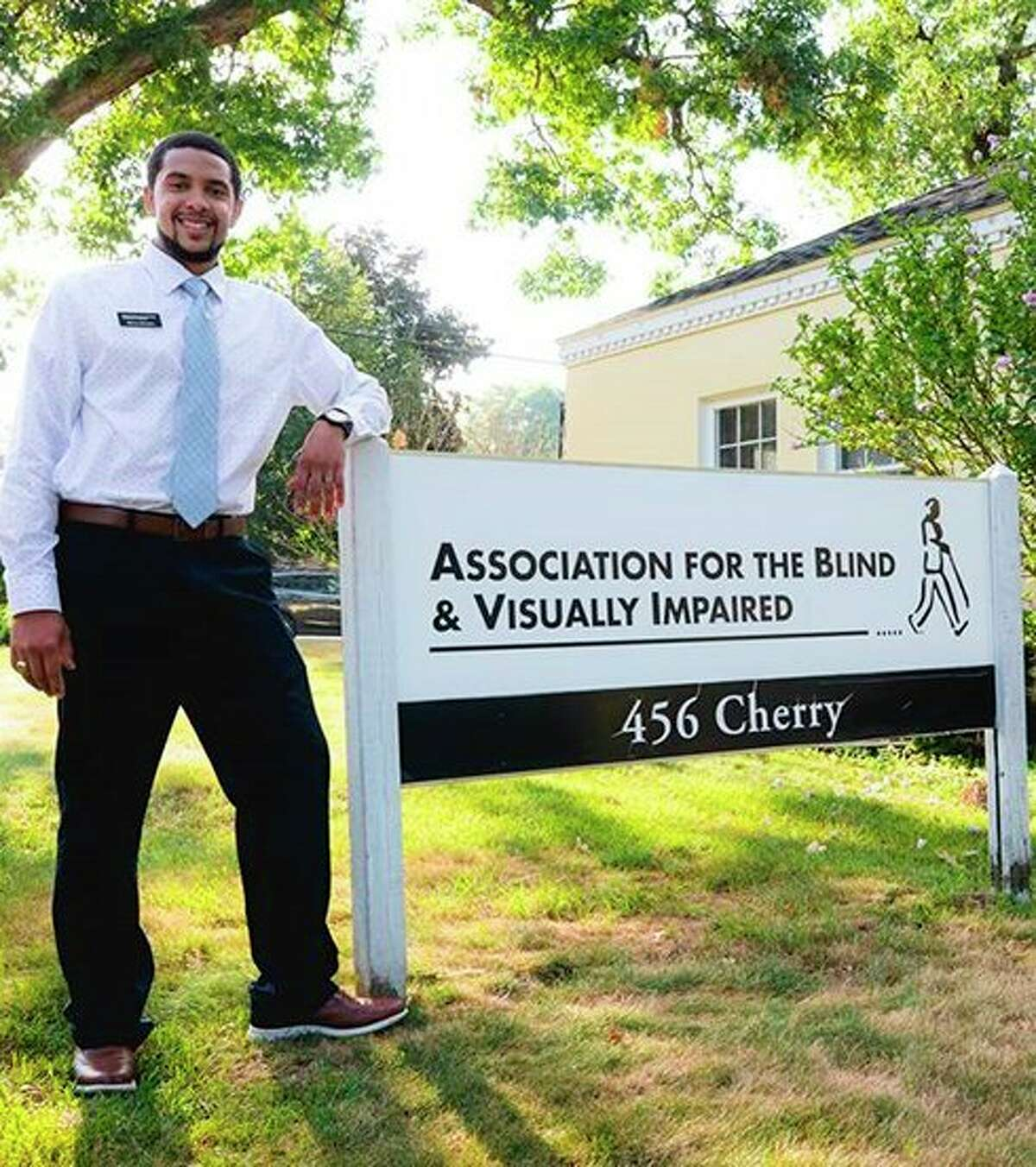 Ferris State University graduate Marcus Manders, the Executive Director of the Association for the Blind and Visually Impaired/Michigan, will speak on Wednesday, Oct. 6, in Room 203 of the University Center building, as part of Disability Awareness Month programming on campus. (Courtesy photo)