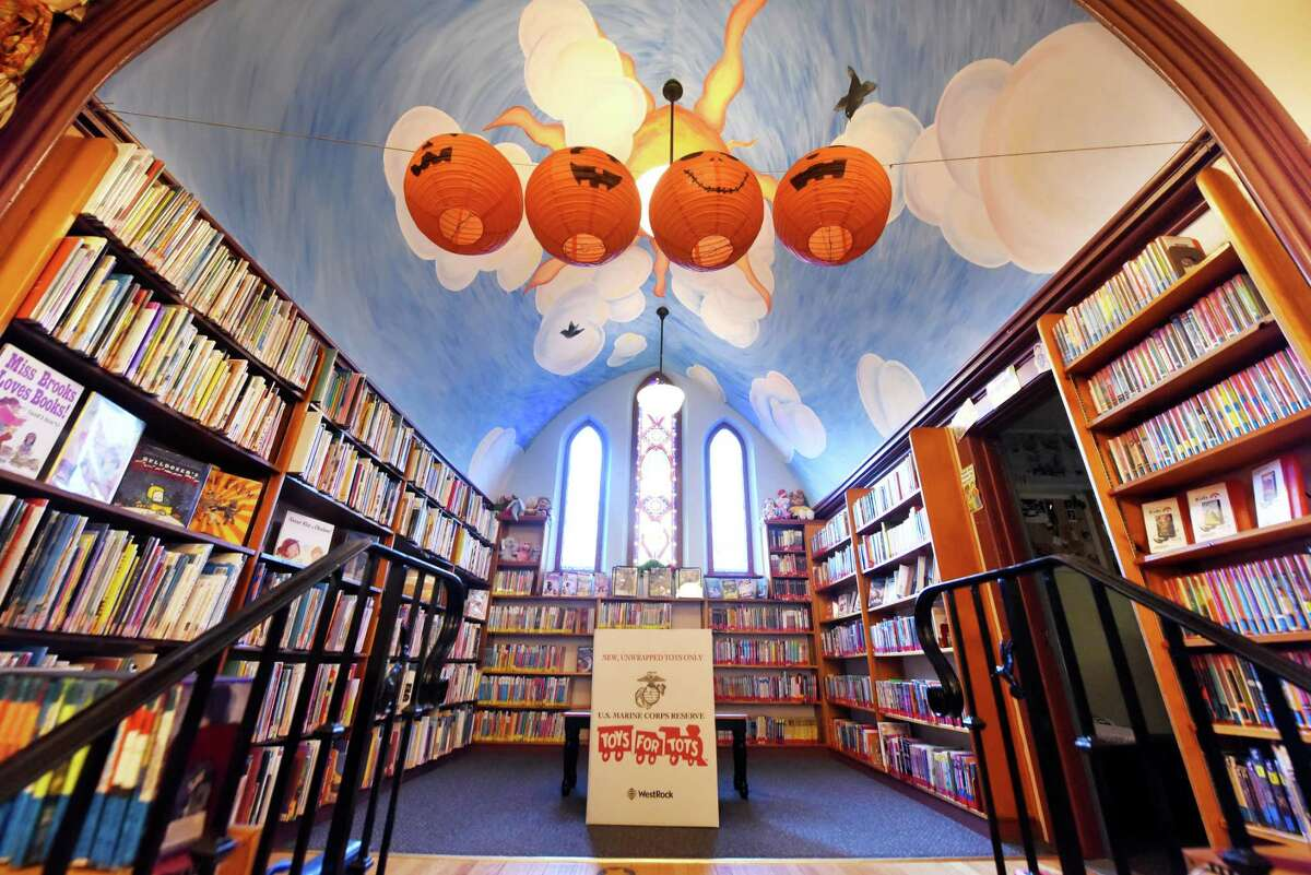 Interior of the Stillwater Public Library on Wednesday, Oct. 6, 2021, in Stillwater, N.Y. Voters approved construction of a new expanded library that would allow Stillwater to offer services that most libraries already provide.