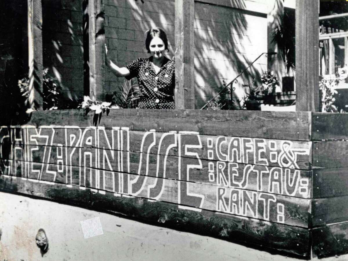 Alice Waters on the first day at Chez Panisse in 1971