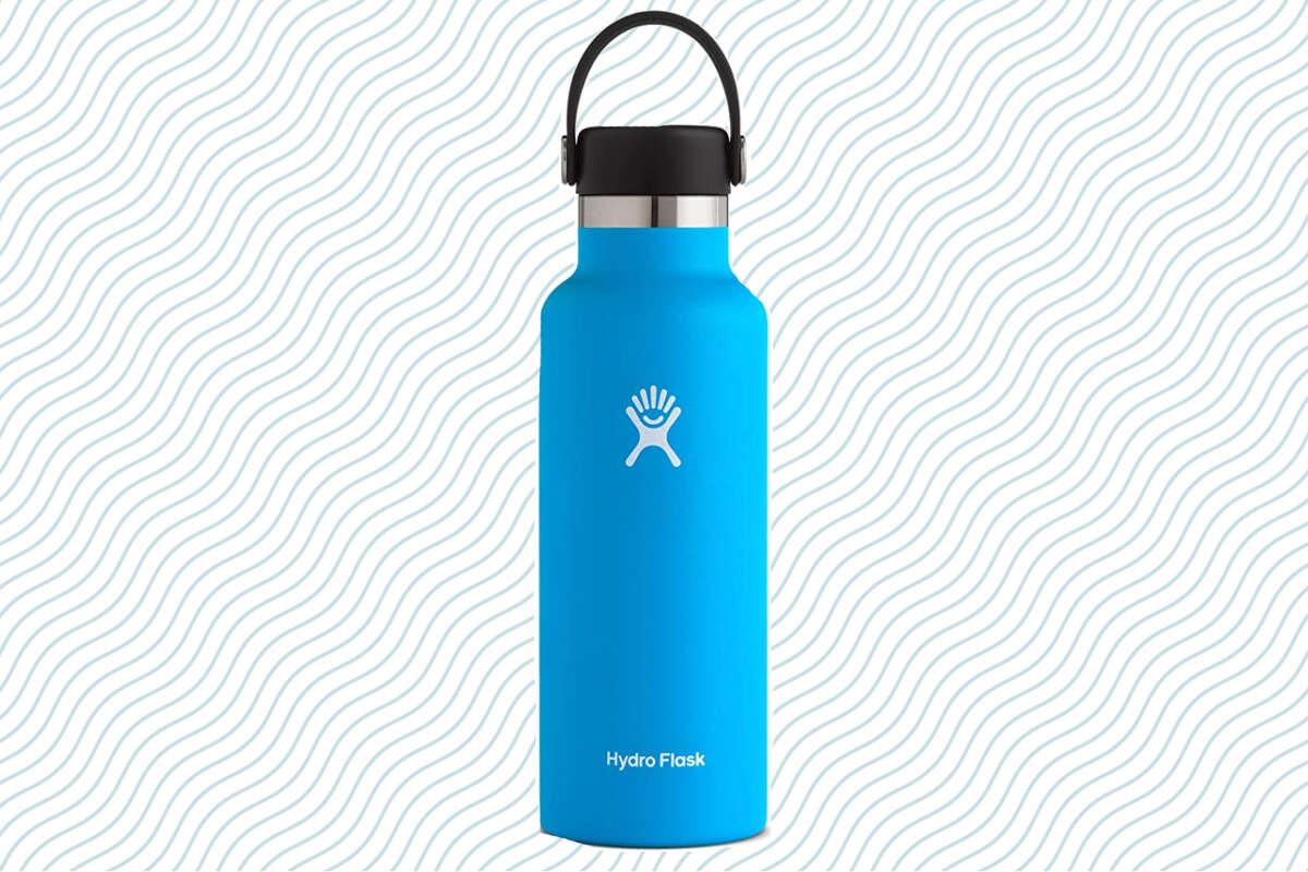 18-ounce Hydro Flask water bottle,