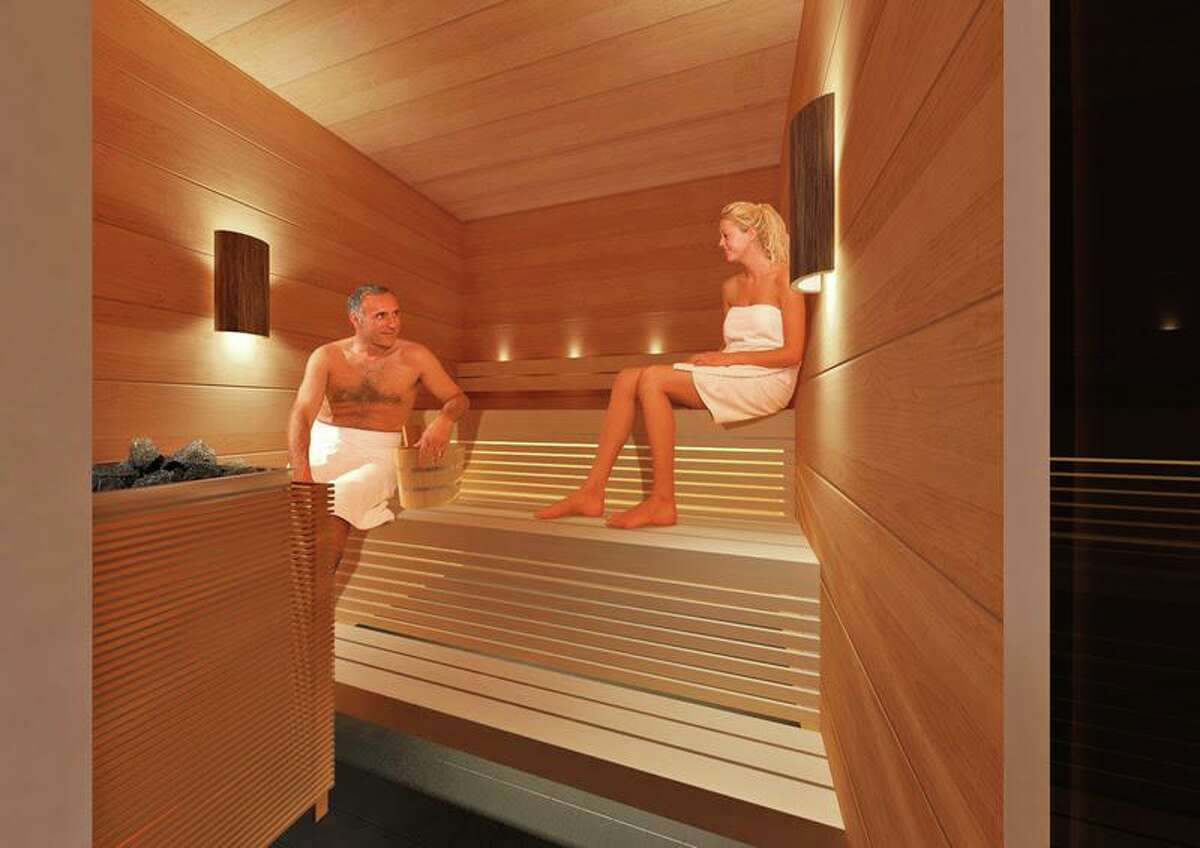 Guests of Finnair's original Lounge and new Premium Lounge, opening July 1 in Helsinki Airport, will have access to private shower suites and a Finnish sauna.