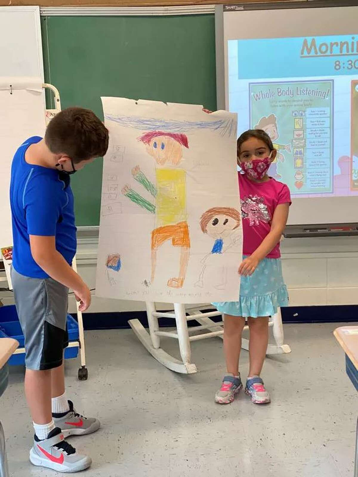 Students working on their projects during Fairfield's 2021 Summer Boost Program in July
