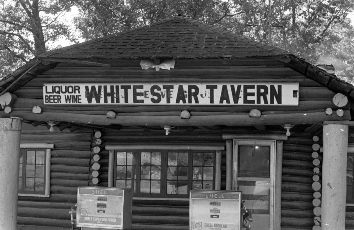 The landmark tavern Star Corners, formerly located off of M-55, is pictured in early October of 1981. (Manistee County Historical Museum photo)