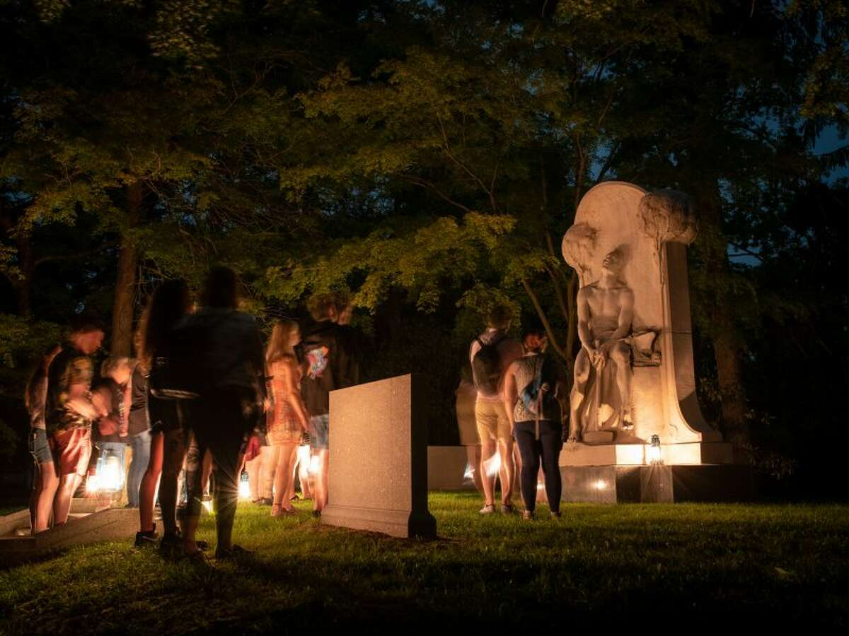 Sleepy Hollow's cemetery tours are booked this month but you can reserve a lantern tour of famous gravesites in November, or tour the grounds using their free map.