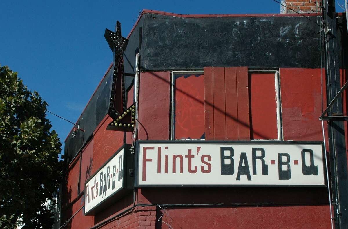 The old Flint's Barbecue location at 3114 San Pablo Ave. in Oakland. Crystal Martin hopes to open a new Flint's.