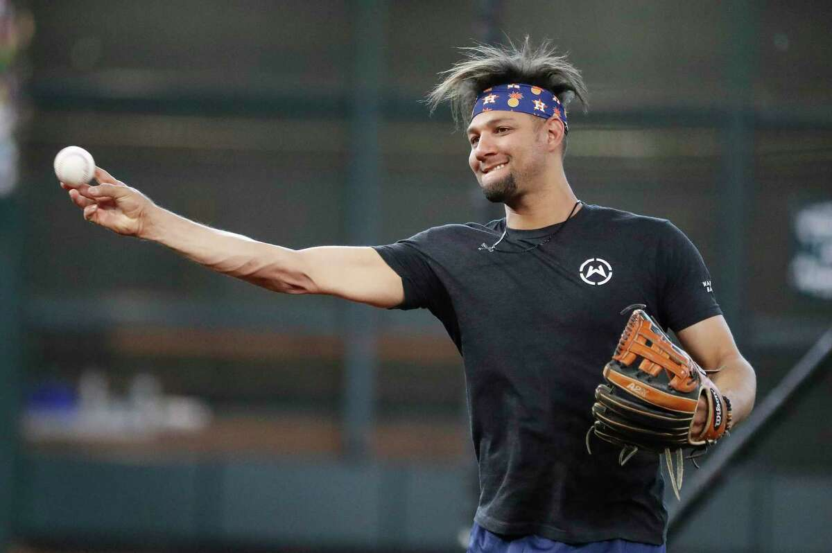 In addition to winning the American League batting title, the Astros' Yuli Gurriel finished fourth among major league first basemen with five defensive runs saved.