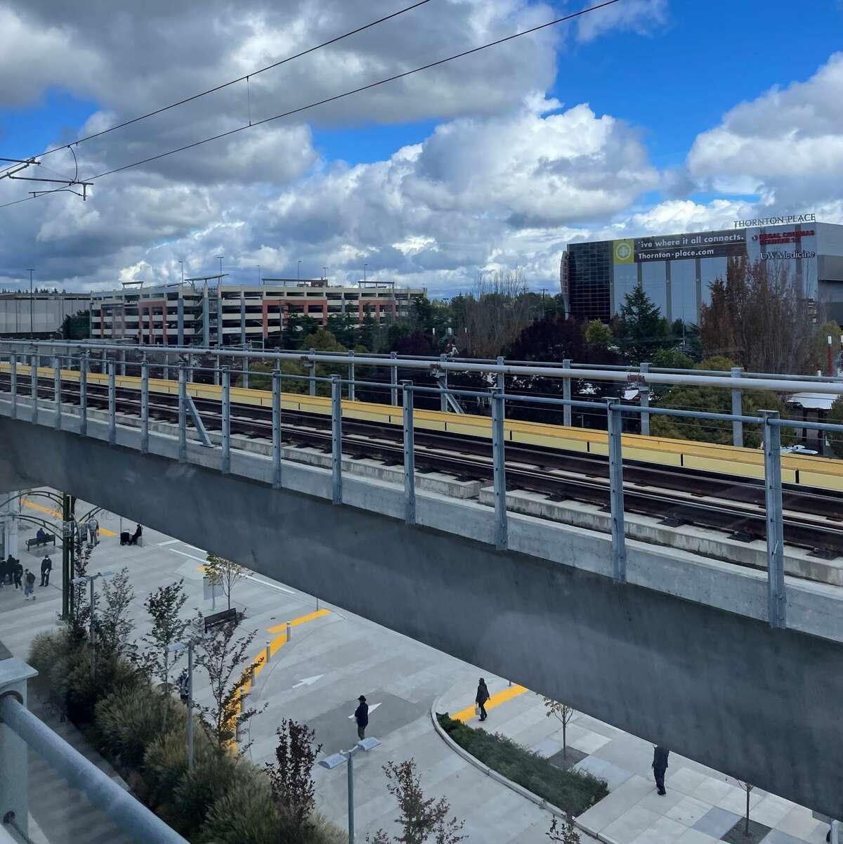 Platform at the Northgate Station.