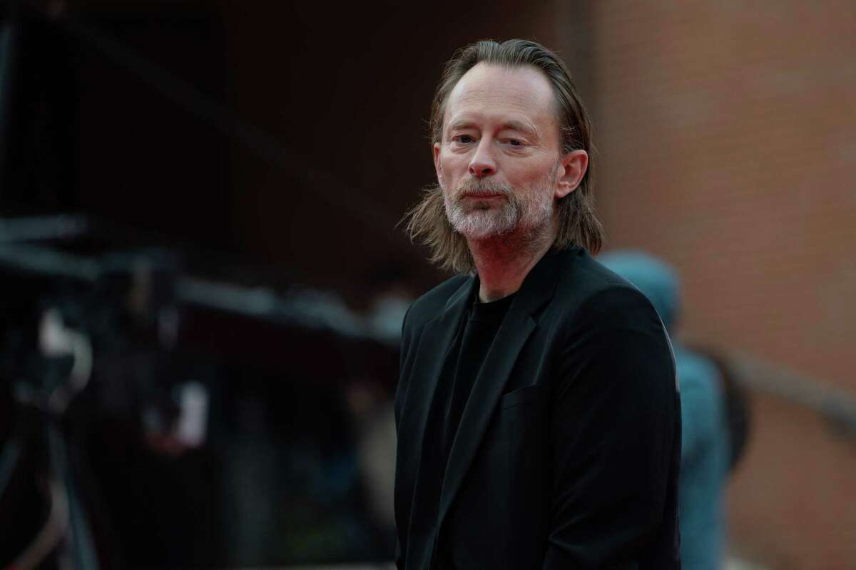 Thom Yorke walks the red carpet during the 15th Rome Film Festival on October 24, 2020 in Rome, Italy