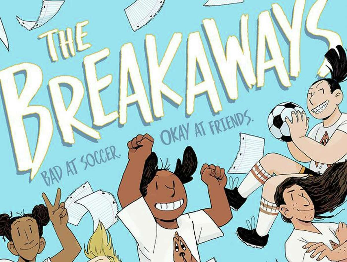 """""""The Breakaways,"""" a children's graphic novel about a group of 8th graders who play soccer together and features a transgender character, was banned from Spring Branch ISD elementary school libraries this week after the district said a committee reviewed the material and found that it was """"not age appropriate."""" Cathy G. Johnson, author of the book, said that the target age range for readers is 8 to 14."""