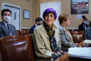 House Appropriations Committee Chair Rosa DeLauro, D-Conn., left, joined by Rep. Kay Granger, R-Texas, the ranking member of Appropriations, appear before the House Rules Committee as they field questions about the politics of the federal debt, at the Capitol in Washington on Sept. 21.