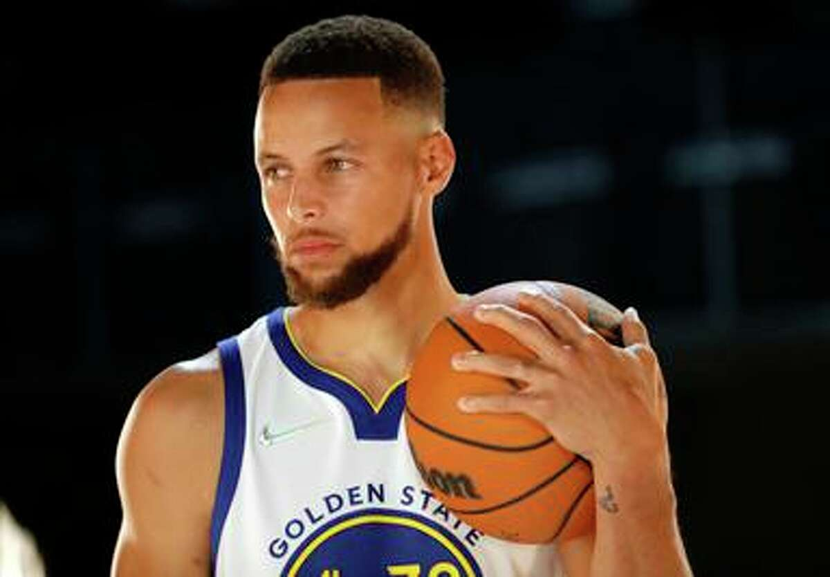 NBA general managers voted Stephen Curry the league's best point guard, the best at moving without the ball, the league's best pure shooter, and sixth-most likely to win MVP.