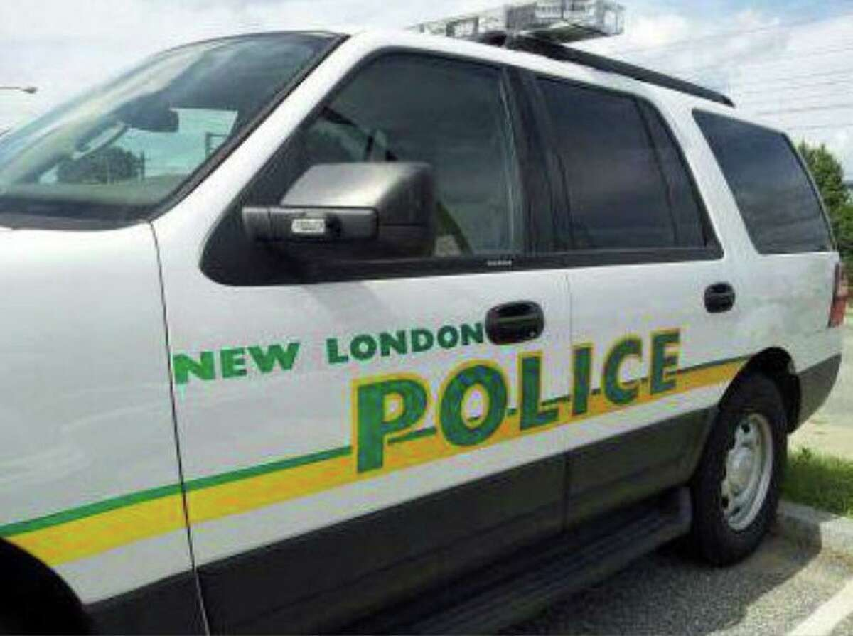A file photo of a New London, Conn., police vehicle.