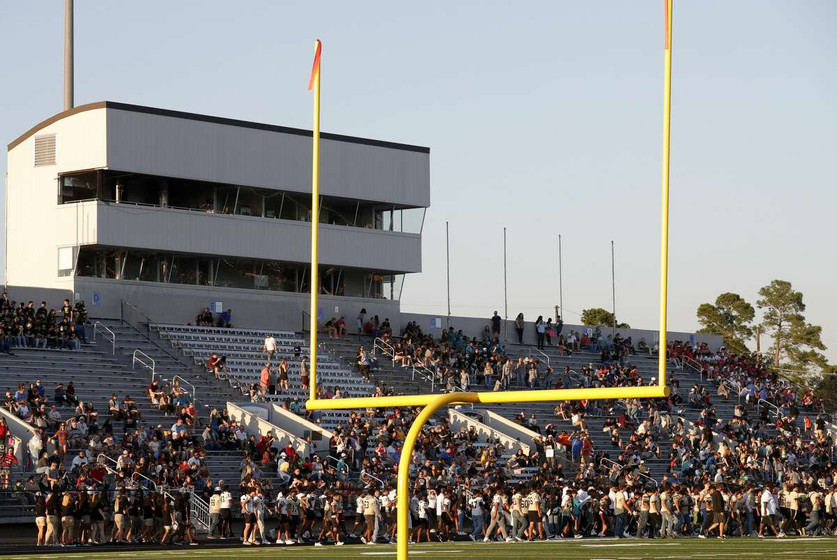 during Conroe High School?•s homecoming parade, Wednesday, Oct. 6, 2021, in Conroe. The school?•s football team will host Oak Ridge at Buddy Moorhead Stadium on Friday for it?•s homecoming game.