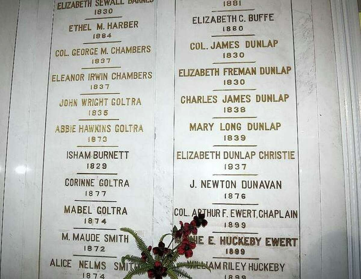 Prior to buying the house, members of the Rev. James Caldwell Chapter of Daughters of the American Revolution sold marble slabs featuring donors' names to raise funds for the purchase. Those slabs still decorate the inside of the mansion.