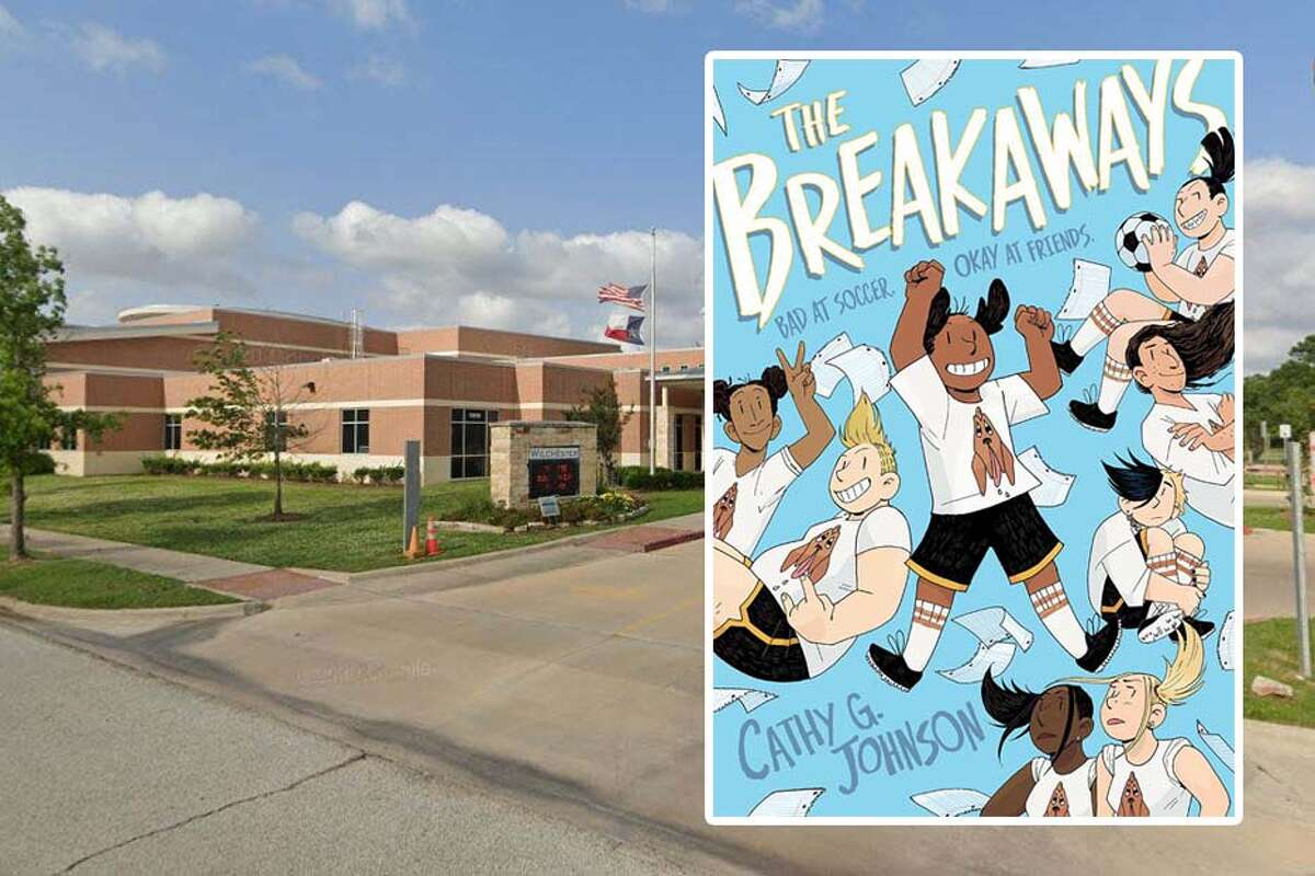 """Spring Branch ISD banned """"The Breakaways,"""" a children's graphic novel that features a transgender character from all of its elementary school libraries after a parent filed a complaint about it."""
