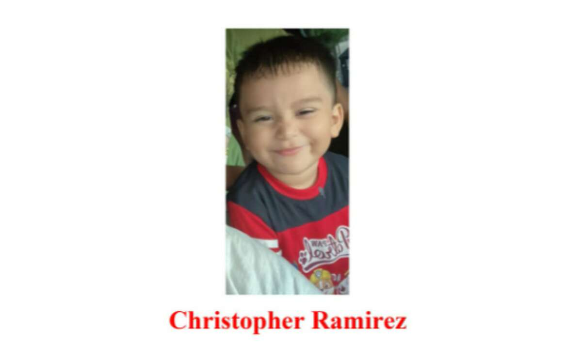 3-year-old Christopher Ramirez went missing in Plantersville on Oct. 6, 2021. He was found Saturday morning and reunited with his mother.