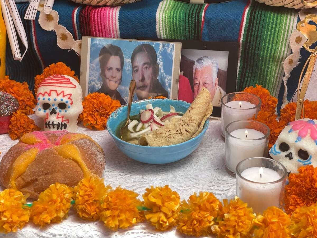 Food Network's recipe for a Día de los Muertos spotlight called for heavy amounts of San Antonio's Westside and family tradition.