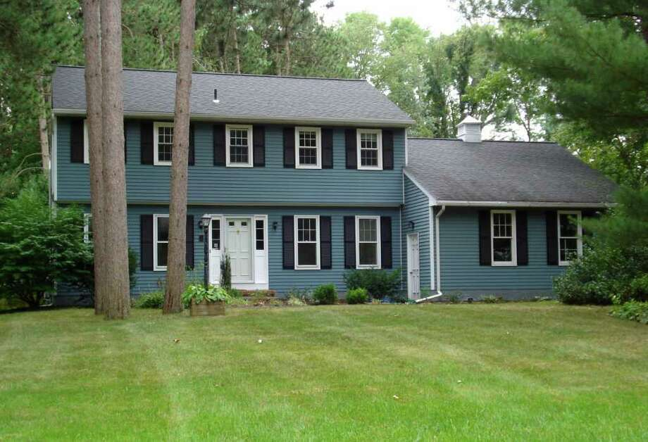 This colonial at 16 Kingswood Drive in Clifton Park has four bedrooms and 2.5 bathrooms and is on the market for $274,900.