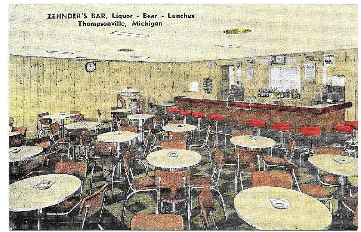 """Zehnders Bar was one of the many iterations of a """"watering hole"""" where Geno's Bar and Grill now stands in Thompsonville."""