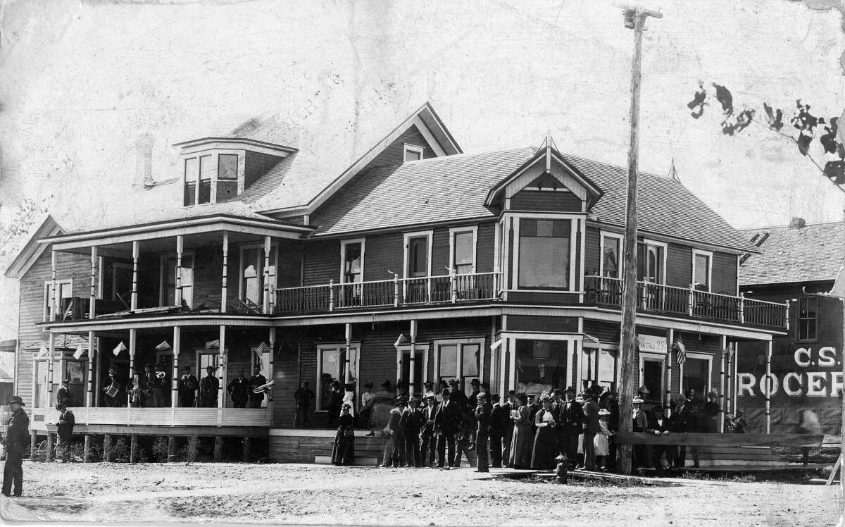 The Diamond Hotel, named after the Diamond Crossing in Thompsonville, attracted people from all over the country.