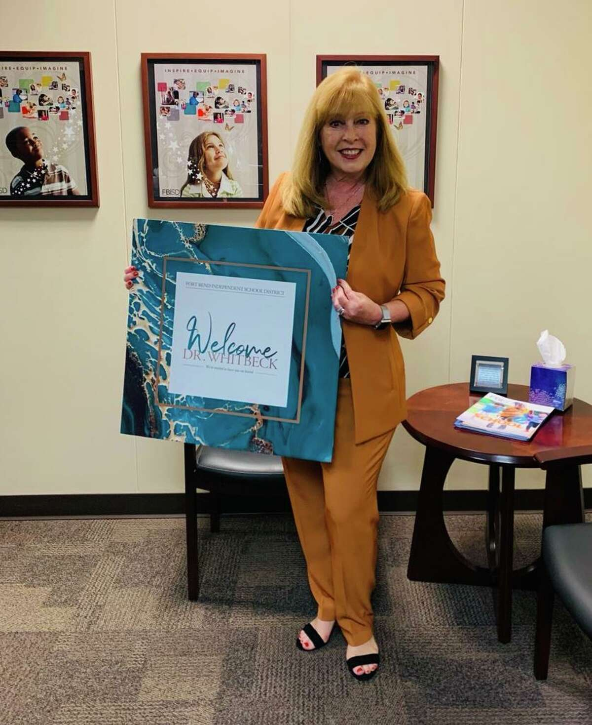 Fort Bend ISD welcomed Christie Whitbeck as its new superintendent on Wednesday, Oct. 6.