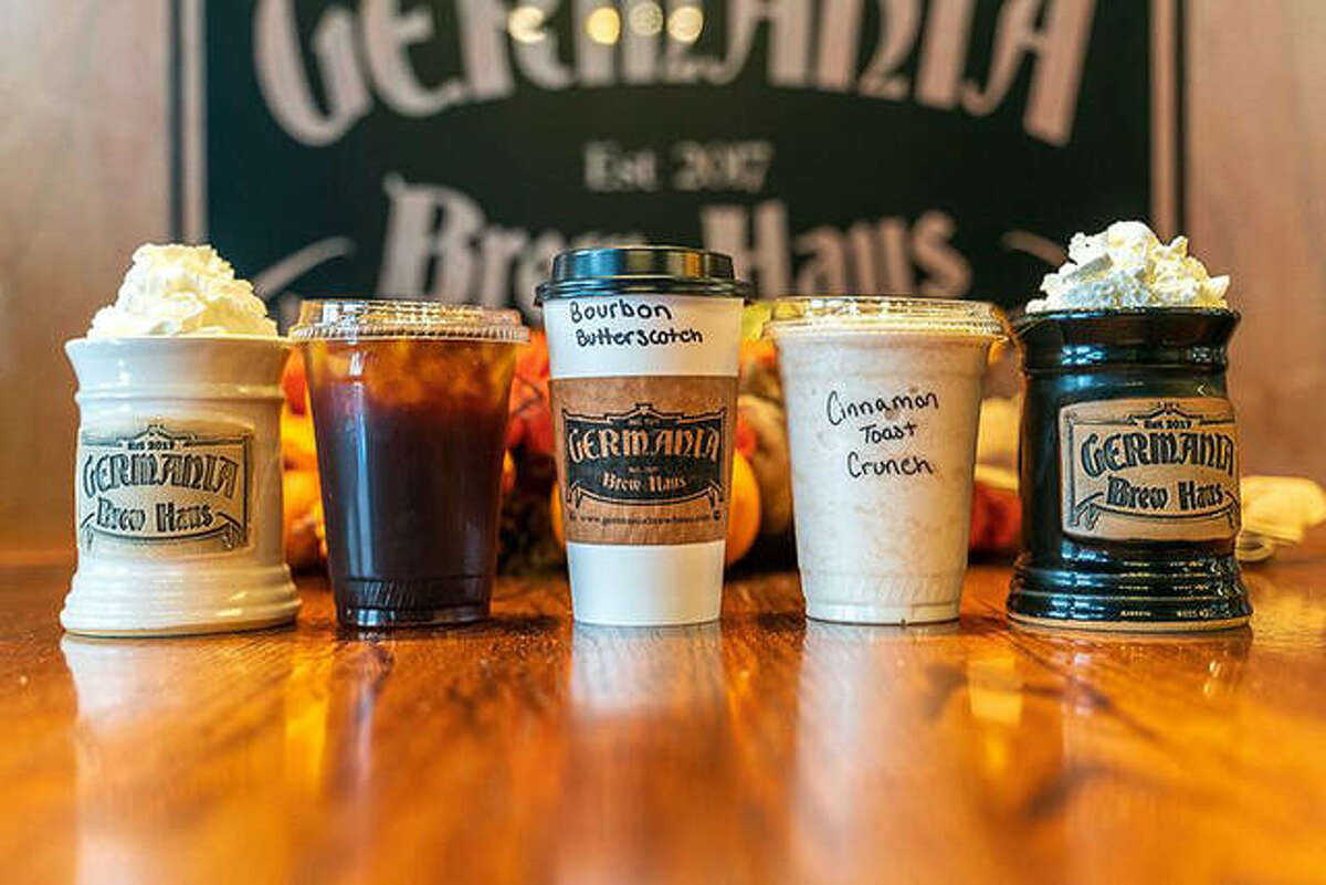 The perfect frappe is based on texture, according to Lici Steele at Germania Brew Haus. The firm is currently offering its line of fall frappes and blended lattes at its stores in Alton and Godfrey.
