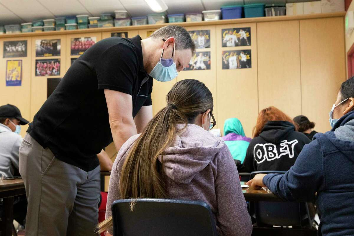 An assistant principal in California steps in to help teach. What if we responded to the risks teachers due to COVID like we do for the risks service members face in combat zones?